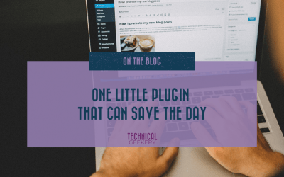 One Little Plugin that Can Save the Day