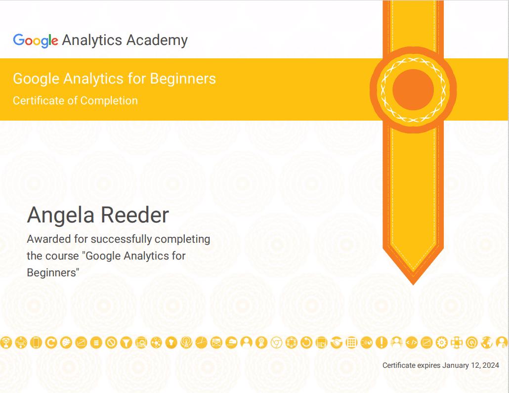 GA for Beginners Certification