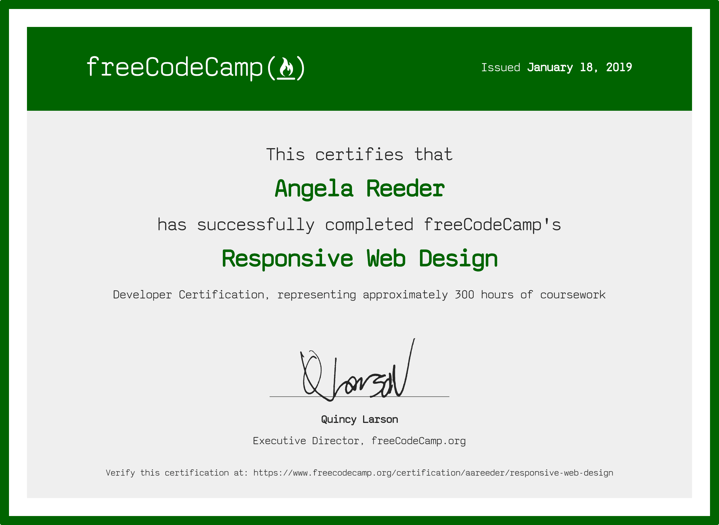 Free Code Camp Responsive Web Design